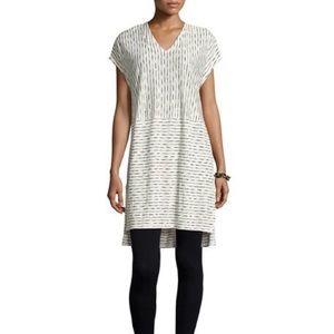Eileen Fisher Painterly Organic Linen Jersey Tunic